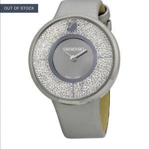 Swarovski crystals watch